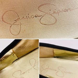 Jessica Simpson Shoes - Jessica Simpson Black Polka Dot Ballet Flats